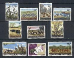 Rwanda 1965 Kajera National Park Wildlife MUH - Rwanda