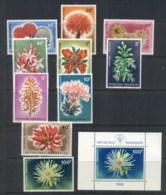 Rwanda 1966 Flowers + MS MUH - Rwanda