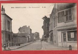 CPA: Choisy Le Roi (94) Rue Demanieux (Société Laitière) - Choisy Le Roi