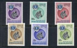 Rwanda 1967 Lions International MUH - Rwanda