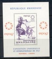 Rwanda 1967 Montreal Expo MS MUH - Rwanda