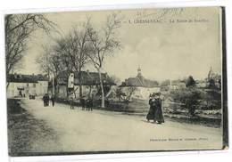 CPA 46 CRESSENSAC LA ROUTE DE SOUILLAC - Autres Communes