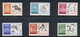 Rwanda 1968 Summer Olympics Mexico City MUH - Rwanda