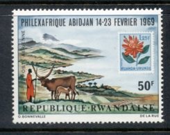 Rwanda 1969 Philexafrique MUH - Rwanda