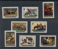 Rwanda 1970 Paintings, Horses MUH - Rwanda