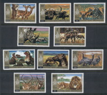 Rwanda 1972 Alsayera National Park Wildlife MUH - Rwanda