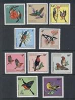 Rwanda 1972 Flowers & Birds MUH - Rwanda