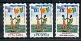 Rwanda 1972 Republic Referendum MUH - Rwanda
