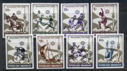 Rwanda 1972 Summer Olympics Munich MUH - Rwanda