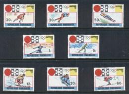 Rwanda 1972Winter Olympics Sapporo MUH - Rwanda