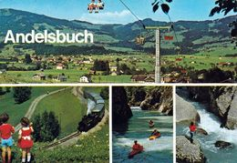 1 AK Österreich Vorarlberg * Ansichten Von Andelsbuch, Dabei Auch Eine Luftbildaufnahme - Mehrbildkarte * - Other