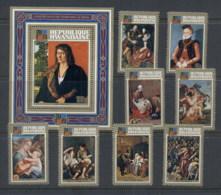 Rwanda 1973 Paintings From The Old Pinakothek Munich + MS MUH - Rwanda