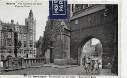 AK 0050  Antwerpen - Binnenzicht Van Het Steen / Koer En H. Kruis Um 1946 - Antwerpen