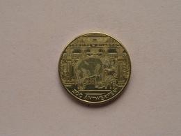 ZOO Antwerpen 2010 /  Belgian Heritage - National Tokens B () België / Goudkleur ! - Elongated Coins