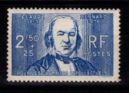 YV 464 Chomeurs Intellectuels N** Cote 12,50 Eur - Francia