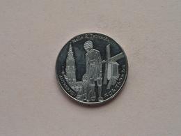 NELLO & PATRASCHE Antwerpen / Belgian Heritage - National Tokens B ( Anno 2012 ) ! - Elongated Coins