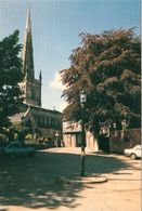 1 AK England * Leicester - Judges Lodgings & St. Mary DeCastro Church - Grafschaft Leicestershire - Leicester