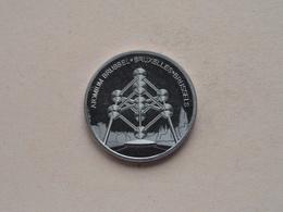 Europe MEMODAILLE Collection -  ATOMIUM Brussel * Bruxelles * Brussels ( Zonder Jaartal ) ! - Elongated Coins
