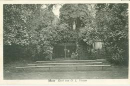 Meer (Hoogstraten) 1955; Grot O.L. Vrouw - Gelopen. (Jockems-Sterkens, Handelaar) - Hoogstraten