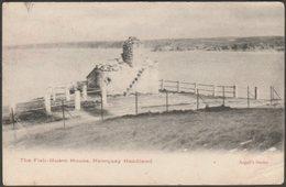 The Fish-Huers House, Newquay Headland, Cornwall, 1904 - Argall's Postcard - Newquay