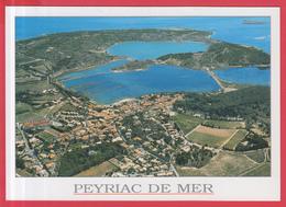 "CPM-11-PEYRIAC-DE-MER _  VUE AÉRIENNE - SUP**""** 2 SCANS - Other Municipalities"