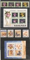 BAHAMAS NOEL Années 1987/91 ** Côte: 67,00 € - Bahamas (1973-...)