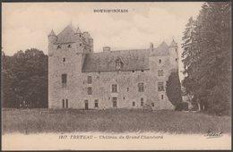 Château Du Grand Chambord, Treteau, Allier, C.1910 - Béguin CPA - France