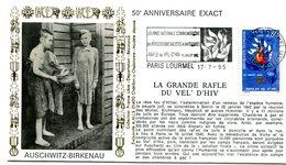 Résistance Et Déportation - Flamme Paris Lourmel - Rafle Du Vel D'Hiv Du 17 Juillet 1995 - X 435 - Guerre Mondiale (Seconde)