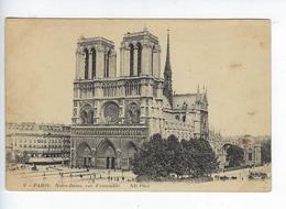 CPA 75 Paris IV Notre Dame Vue D'ensemble 9 - Notre Dame De Paris