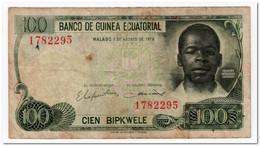 EQUATORIAL GUINEA,100 BIPKWELE,1979,P.14,FINE - Guinea Equatoriale