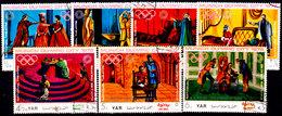 Yemen-0002 - Olimpiadi Di Monaco 1972 (o) Used - Senza Difetti Occulti. - Yemen