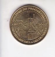 Jeton Médaille Monnaie De Paris MDP Gouggre De Proumeyssac 1907 2007 Centenaire - Monnaie De Paris