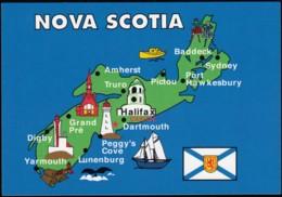 Nova Scotia, Map (PC516) - Maps
