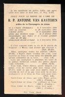 PATER ANTOINE VAN KASTEREN  CHAAM HOLLAND 186§  GENT 1932 - Obituary Notices