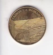 Jeton Médaille Monnaie De Paris MDP Vaison La Romaine 2007 - Monnaie De Paris