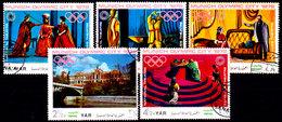 Yemen-0004 - Olimpiadi Di Monaco 1972 (o) Used - Senza Difetti Occulti. - Yemen
