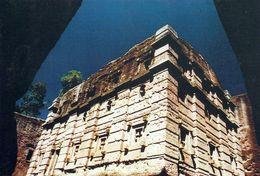1 AK Äthiopien Ethiopia * Felsenkirche Bet Emmanuel In Lalibela - Erbaut Im 12. Jh. - Seit 1978 UNESCO Weltkulturerbe - Ethiopia