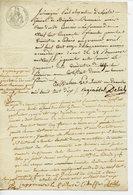 GENERAL PAUL ALEXANDRE DELISLE LAS 1810 1811 - Autographs