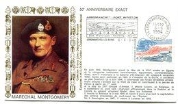 Débarquement - Flamme Arromanches - Du 6 Juin 1994 - X 452 - WW2