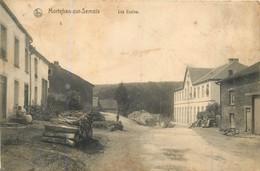 BELGIQUE  MORTEHAN  Les écoles  2scans - Bertrix