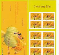 France Neuf **  2004 Carnet Commémoratif 3634    Timbres Pour Naissance D'une Fille - Commemoratives