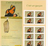 France Neuf **  2004 Carnet Commémoratif 3635    Timbres Pour Naissance D'un Garçon - Commemoratives