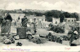 Tanger (Maroc) - Marché De Bois. Dos Non Divisé. Edit: Stengel - Tanger