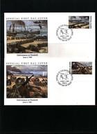 Marshall Island 1990  WW II Dunkirk FDC - WW2