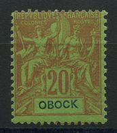 Obock (1892) N 38 * (charniere) - Unused Stamps