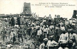 Tissaf (Maroc) - Colonne De Moyenne Moulouya. Transform. En Redoute De La Casba - Autres