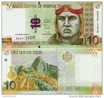 PERU       10 Nuevos Soles       P-187       17.1.2013       UNC - Perù