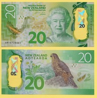 New Zealand 20 Dollars P-193 2016 UNC - Nouvelle-Zélande