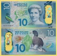 New Zealand 10 Dollars P-192 2015 UNC - Nouvelle-Zélande