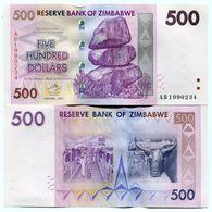 Zimbabwe 2007 $500 - Uncirculated Banknote Money - P70 - Zimbabwe